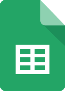 Google Sheets Logo Vector Eps Free Download