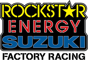 Rockstar Energy Suzuki Factory Racing Logo Vector