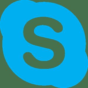 Resultado de imagen de logo skype