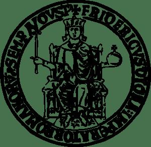 universit224 degli studi di napoli federico ii logo vector