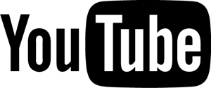 YouTube (black) Logo Vector