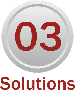 03 Solutions Logo Vector