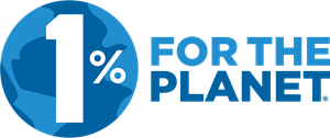 1% for the Planet Logo Vector