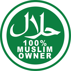 100 MUSLIM OWNER Logo Vector