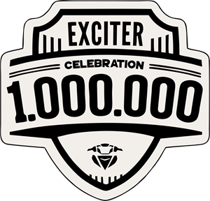 1000000 Exciter Logo Vector