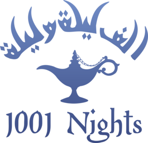 1001 Nights Logo Vector