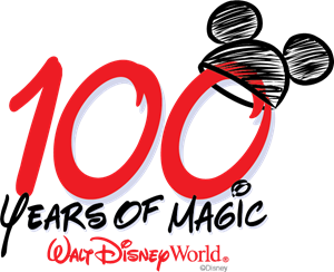 100 Years of Magic Logo Vector
