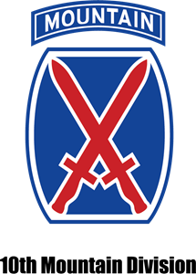 10th Mountain Division Logo Vector