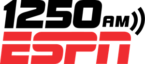 1250 AM ESPN Logo Vector