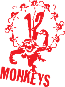 12 monkeys Logo Vector