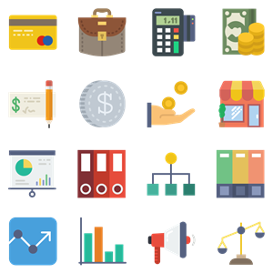 170 Business icons Logo Vector