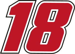 18 Joe Gibbs Racing Logo Vector