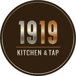 1919 KITCHEN & TAP Logo Vector