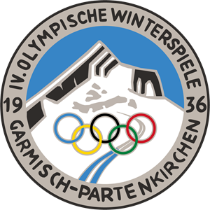 1936 Winter Olympics Logo Vector