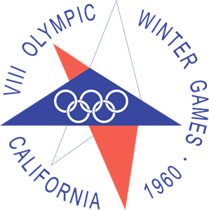 1960 Winter Olympics Logo Vector