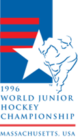 1996 IIHF World Junior Championship Logo Vector