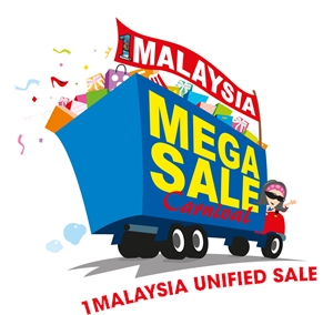 1malaysia unified sale Logo Vector