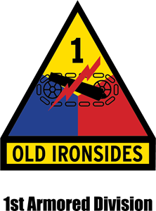 1st Armored Division Logo Vector