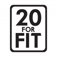 20 For Fit Logo Vector