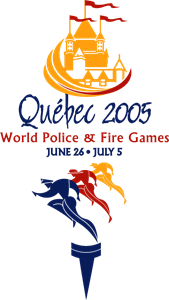 2005 World Police and Fire Games Logo Vector