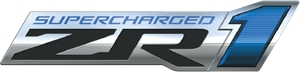 2009 Chevrolet Corvette ZR1 Logo Vector