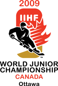 2009 IIHF World Junior Championship Logo Vector