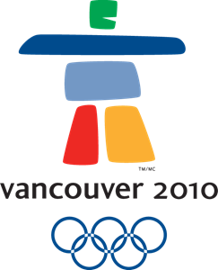 2010 Winter Olympic Games in Vancouver Logo Vector