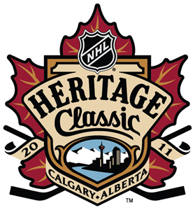 2011 NHL Heritage Classic Logo Vector