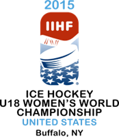 2015 IIHF World Women's U18 Championship Logo Vector