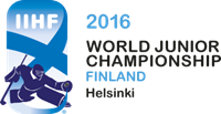 2016 IIHF World Junior Championship Logo Vector