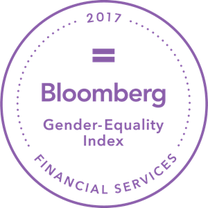 2017 Bloomberg Financial Services Gender-Equality Logo Vector