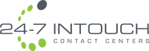 24-7 Intouch Contact Centers Logo Vector