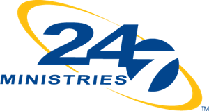 24-7 Ministries Logo Vector