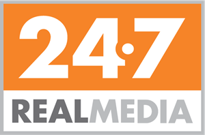 24/7 Real Media Inc. Logo Vector