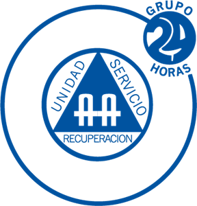 24 Horas Logo Vector