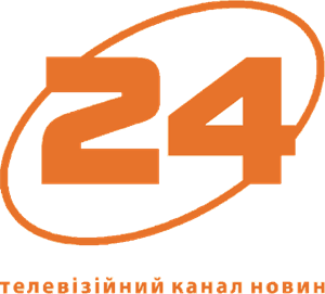 24 News TV Logo Vector