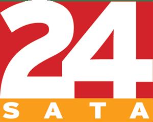 24 sata Logo Vector (.EPS) Free Download