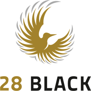 28 Black Logo Vector