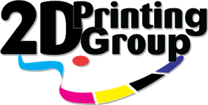2D Printing Group Logo Vector