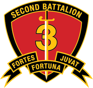 2nd Battalion 3rd Marine Regiment USMC Logo Vector