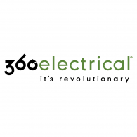 360 Electrical Logo Vector