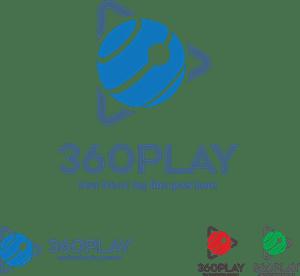 360 play Logo Vector