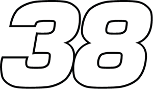 38 Robert Yates Racing Logo Vector