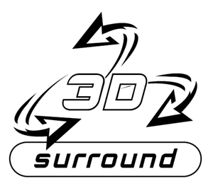 3D Surround Logo Vector