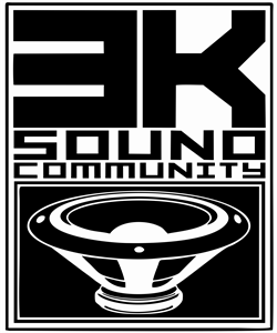 3K Sound Community Logo Vector