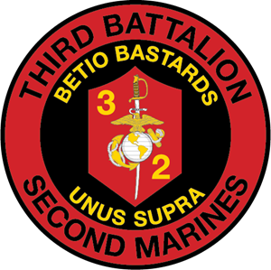 3rd Battalion 2nd Marine Regiment USMC Logo Vector