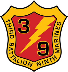 3rd Battalion 9TH Marine Regimet USMC Logo Vector