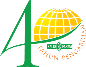 40 th Kalbe Farma Logo Vector