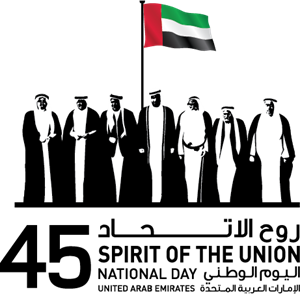 45 Spirit of the Union UAE Logo Vector