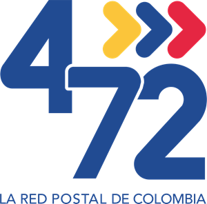 472 LA RED DE POSTAL DE COLOMBIA Logo Vector